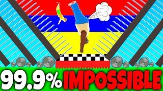 HAPPY WHEELS - 99.9% IMPOSSIBLE - EXTREME LEVELS - SHORT LIFE (HD)