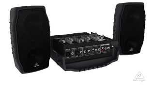 EUROPORT PPA200 Portable PA System