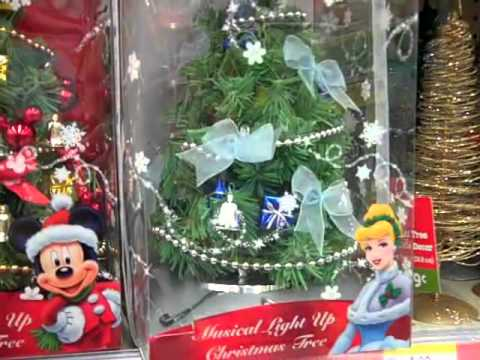 Christmas Decorations At Walgreens, 2010 - YouTube