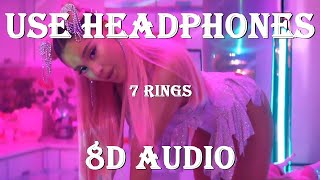 7Rings Ariana Grande (8d audio song)   Bass Boosted English Songs