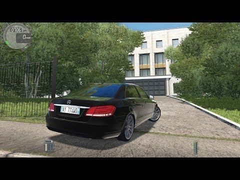 City Car Driving - Mercedes E350 W212 [Logitech G27]