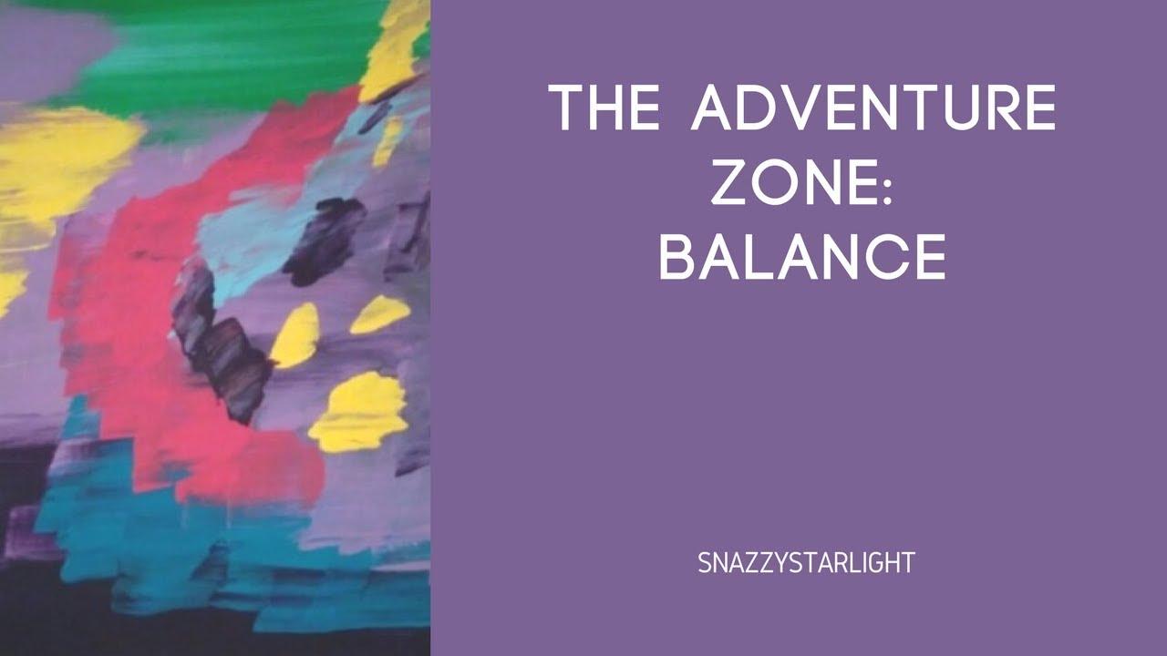 The Adventure Zone Balance Theme Synesthesia Painting