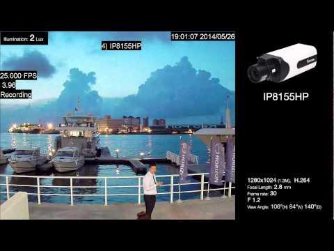 VIVOTEK IP8155HP Footage - SNV (2 Lux)