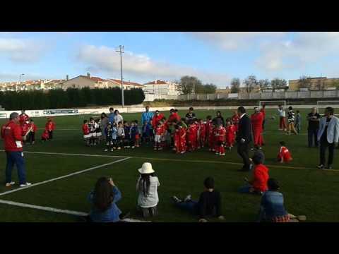 Torneio escola do Benfica Mata mourisca- entrega de prémios