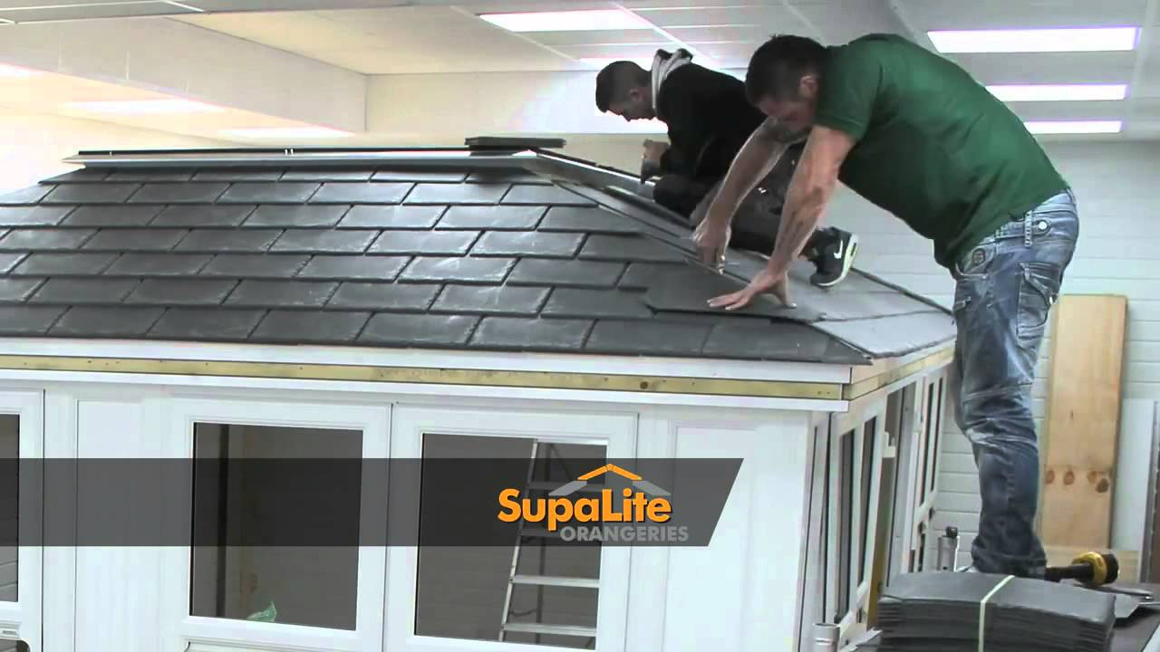 Pk8trading Extra Lightweight Tiled Conservatory Roof System