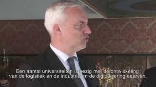 Minister Duin/Hafen Rotterdam: Zukunft der Logistik NL/NRW