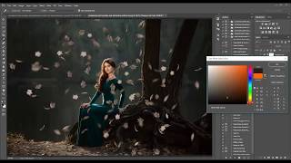 how to add leaf overlays in photoshop and pse by summerana