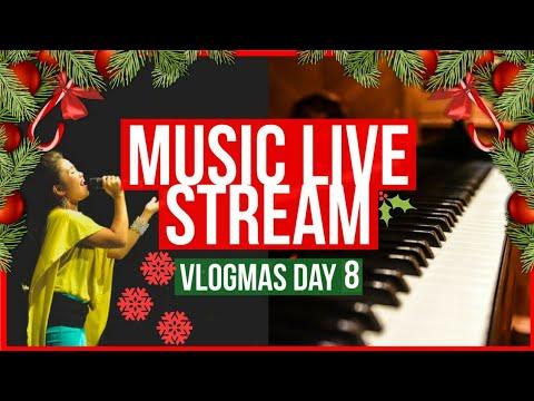 🎶 Singing Live Stream!   VLOGMAS 2017