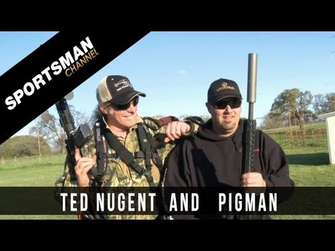Pigman And Ted Nugent - Hunting Hogs From The Sky!
