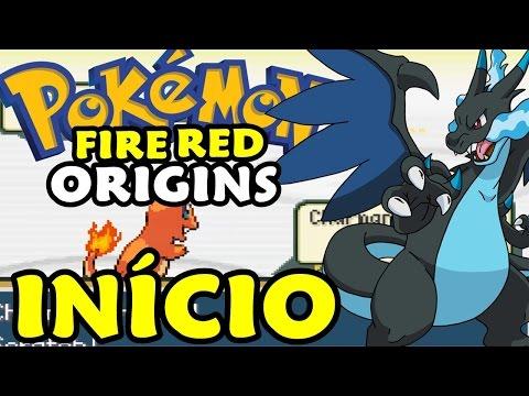 Pokémon Fire Red Origins (Hack Rom) - O Início com Mega Evolução