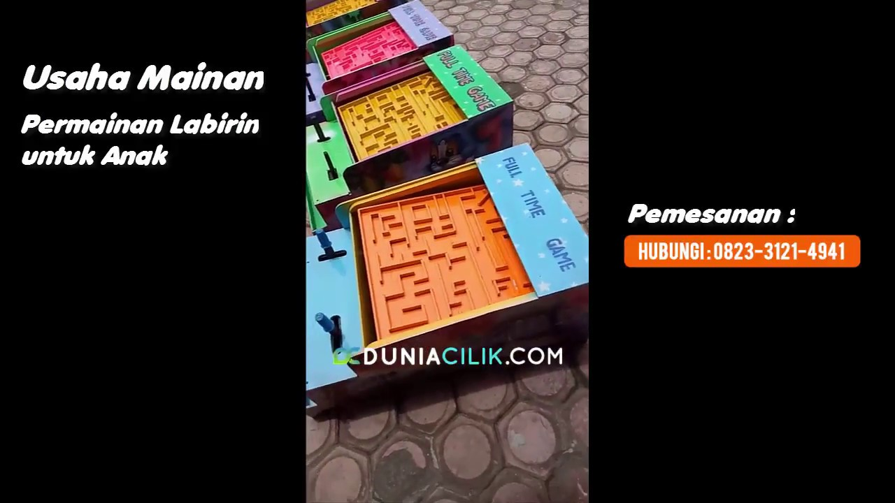 Usaha Mainan Permainan Labirin untuk Anak  7cad1e7080