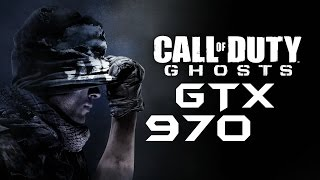Call of Duty: Ghosts | GTX 970 OC | 1080p Max Settings 4xTXAA | FRAME-RATE TEST