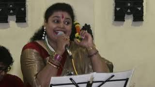 JHUM JHUM JHUM RAAT NIJHUM Live by Smt.Sudarshana Choudhury 🎵🙏🎶