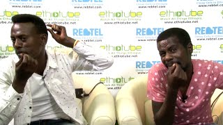 Comedians Bini Dana and Tariku remix Teddy Afro's Tikur Sew