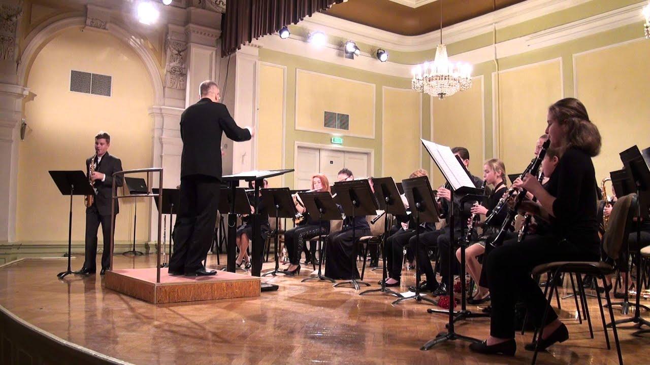 """00610 VII Baltijas valstu pūtēju orķestru diriģentu... forums, koncerts"""""""" Solo ar otķestri"""""""""""