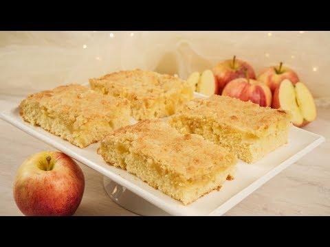 Omas Apfelstreuselkuchen vom Blech | Blechkuchen | Streuselkuchen Rezept