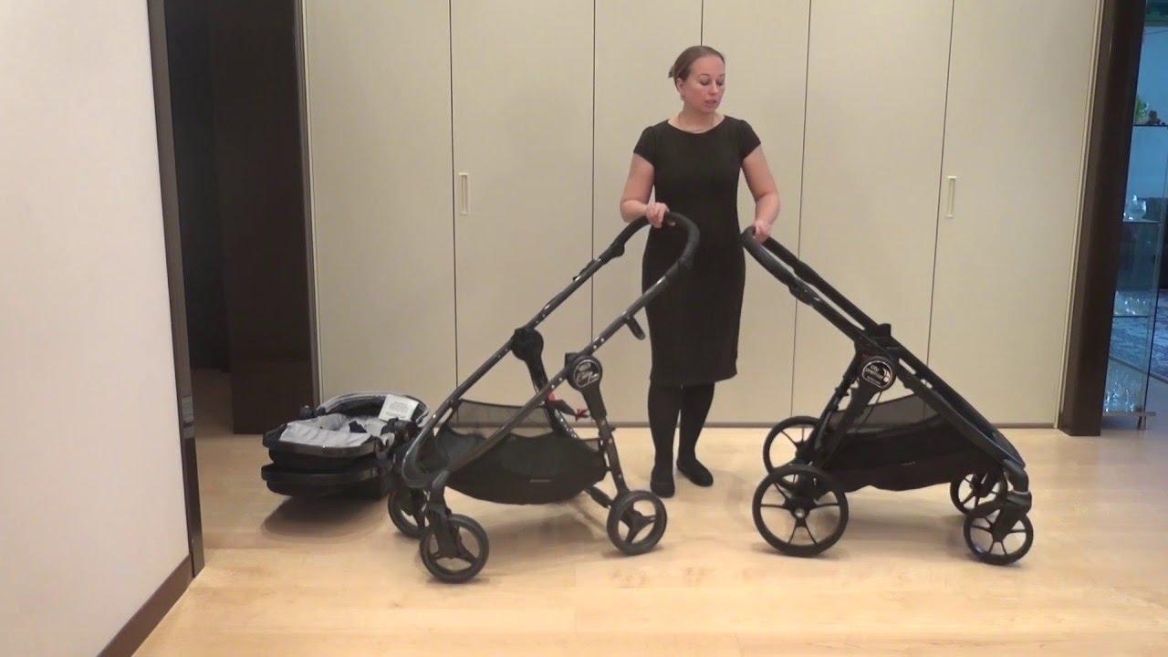 Baby Jogger City Versa& Baby Jogger City Premier - YouTube