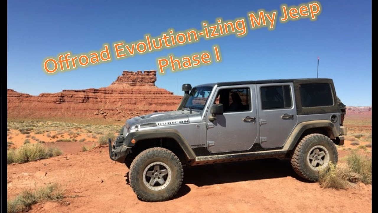 Jeep Information And Evolution Offroaders Com >> Offroad Evolution Izing My Jeep Jk Phase I