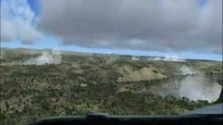short runway landing with p3 orion
