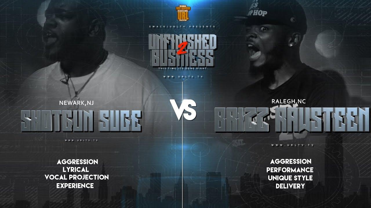 Shotgun Suge Vs Brizz Rawsteen [Rap Battle]