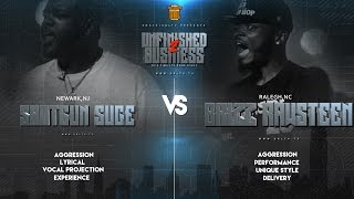 SHOTGUN SUGE VS BRIZZ RAWSTEEN RAP BATTLE | URLTV