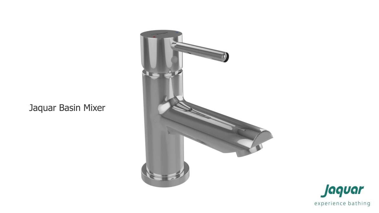 Fitting Basin Taps Jaquar Single Lever Basin Mixer Youtube