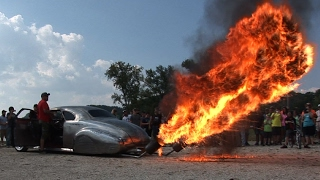 WILD Flame Throwing 1940 BUICK !!!