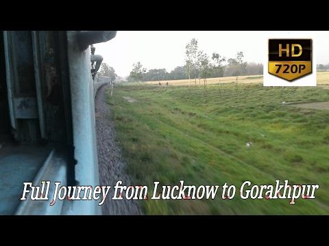 Lucknow to Gorakhpur via barhni full journey Compiltion: Onboard 15010 GTNR GKP express