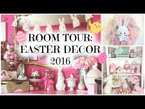 Room Tour: Easter Decorations Edition ♡ Easter/Spring 2016