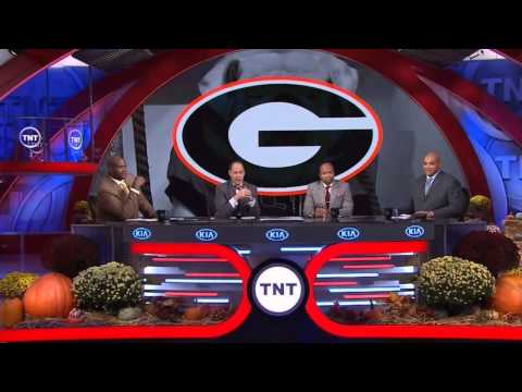 """Charles Barkley sings the """"Glory,Glory"""" The Georgia Fight Song"""