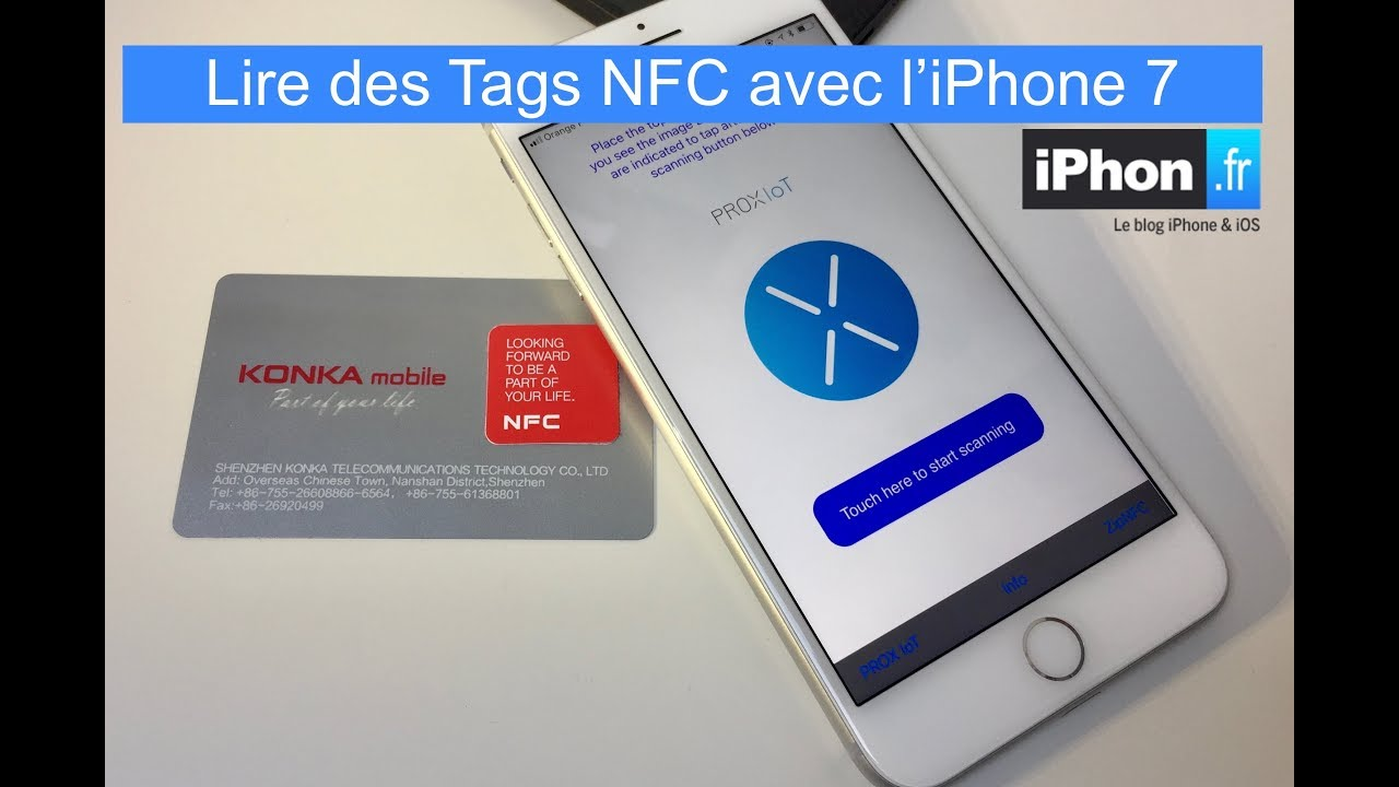 Lecture De Tag Nfc Avec Iphone 7 Ios 11 Youtube