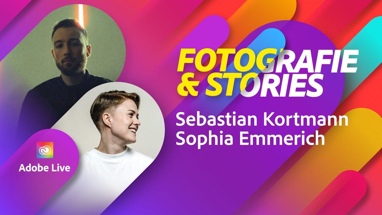 Wie man mit Fotografie Geschichten erschafft - mit Sebastian Kortmann |Adobe Live