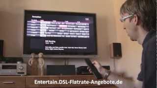 Telekom Media Receiver 303 Praxistest / Telekom MR303 Testbericht - so funktioniert Entertain TV