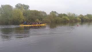 Карповый катер для прикормки Фортуна тест драйв на реке и случайные соревнования