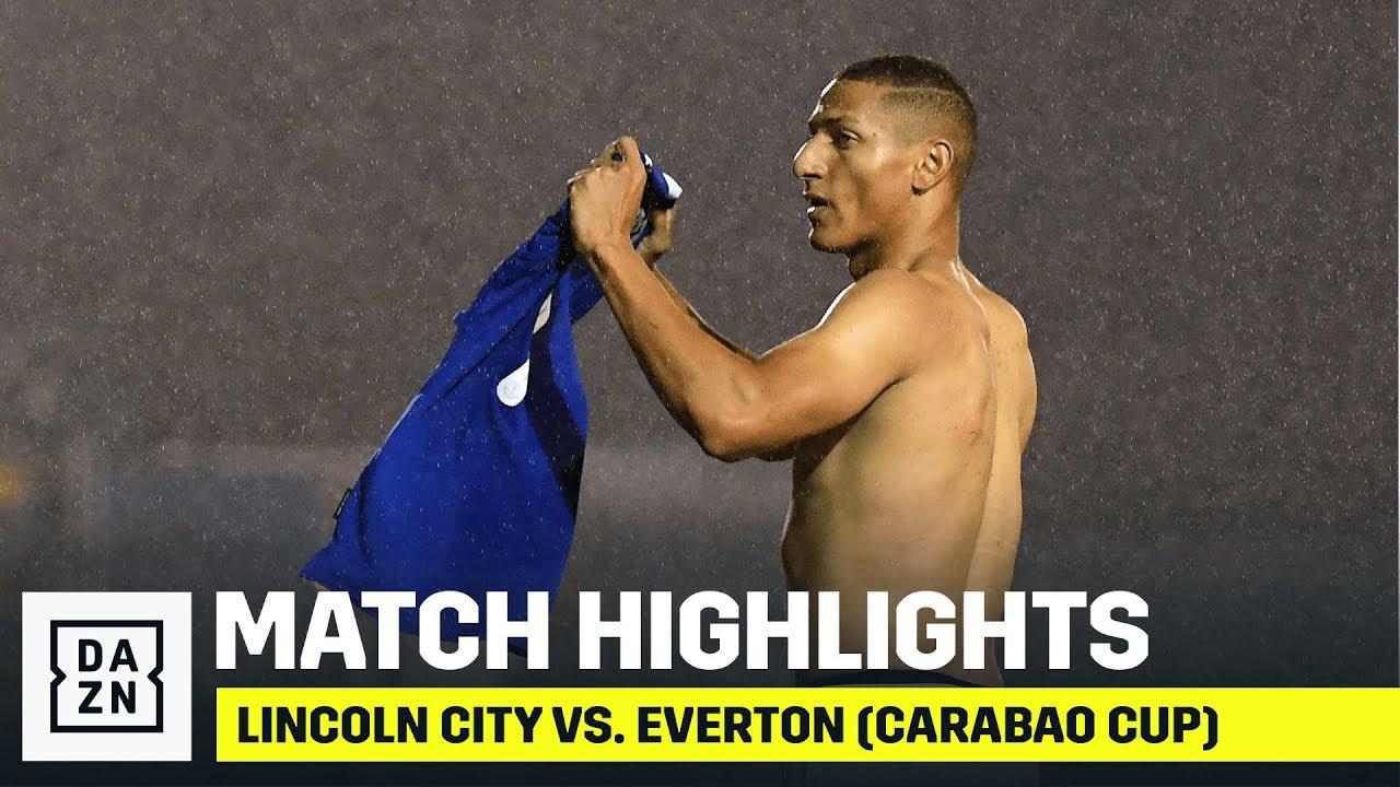 HIGHLIGHTS | Lincoln City vs. Everton (Carabao Cup)