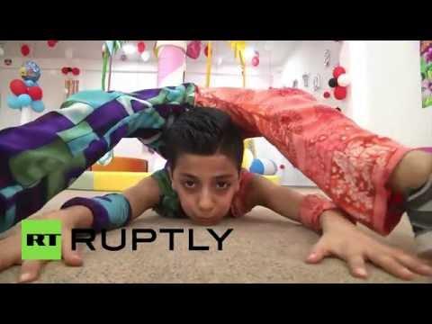 Nothing impossible for 12yo acrobat prodigy from Gaza City