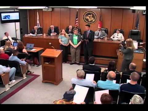 Burlington City Council Meeting April 19, 2016