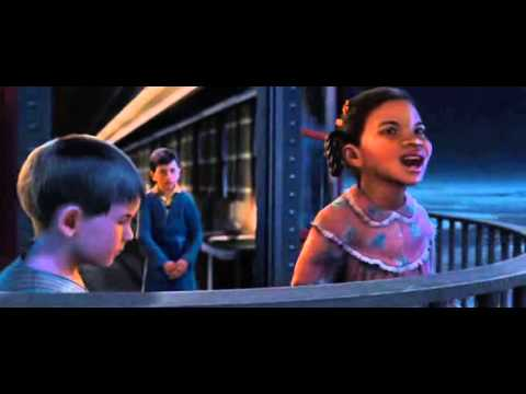 Polar Express when christmas comes to town in Italiano - YouTube