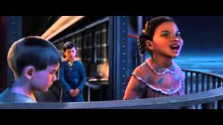 Polar Express when christmas comes to town in Italiano
