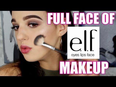 I'M SHOOK! Full Face Of e.l.f. First Impressions! | Jordan Byers