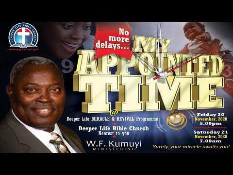 Miracle & Revival Programme (November 20, 2020)