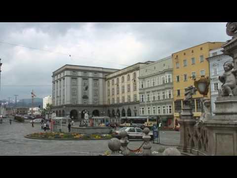 Linz, Austria Tourism : Linz Tourism: Hauptplatz