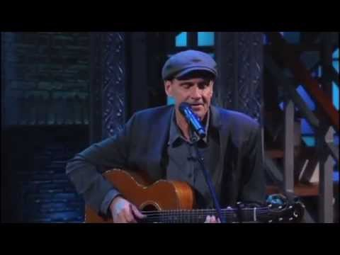 James Taylor sings La Marseillaise