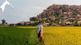 The MOST UNQIUE Place I've been - Hampi, INDIA TRAVEL VLOG