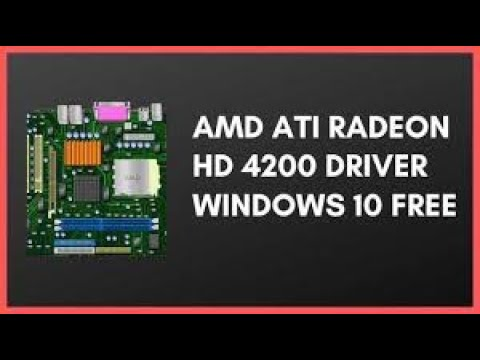 How To Install ATI Radeon HD 4200 Latest  Display Driver FOR AMD PC