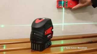 CPI I106G Green 7 Beam Multiline Laser Level - Brightest Green Beam Laser Available!