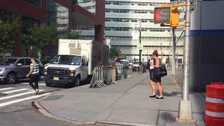 NYPD 1st Precinct Chevy Impala Responding