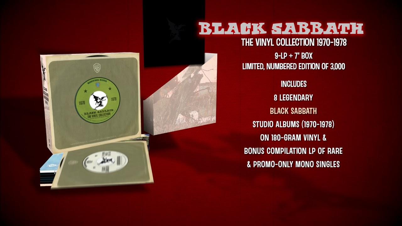 BLACK SABBATH - The Vinyl Collection Unboxing