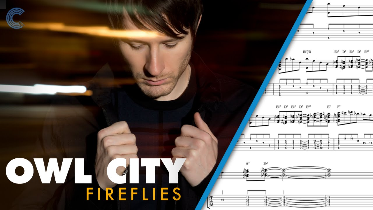 Bass Fireflies Owl City Sheet Music Chords Vocals Youtube