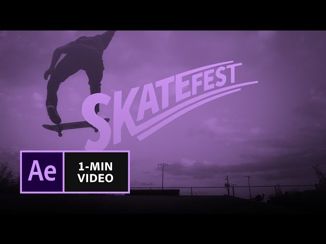 How to Make a Write-On Effect in After Effects | Adobe Creative Cloud